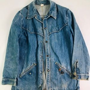 Vtg Vintage Levi's orange tab denim jacket